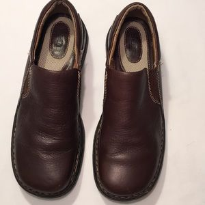 BORN Brown Leather Shoes Sz 8